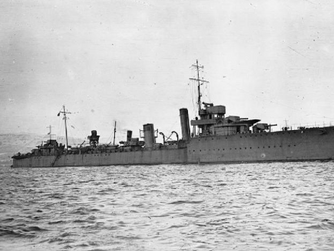 British Legion to remember HMS Warwick victims