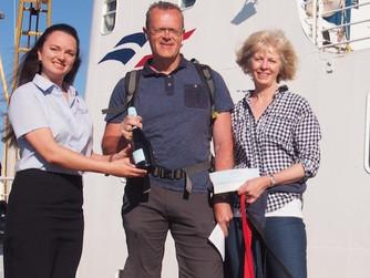ISSG reaches milestone passenger number