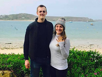 Bryher bride shares wedding day with royals