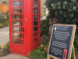 New phone box museum opens on Bryher
