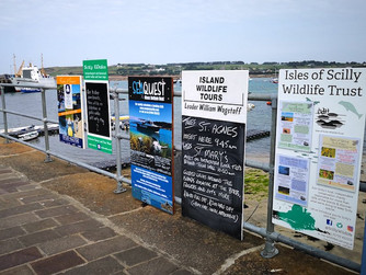 Wildlife Trust grateful for noticeboard support