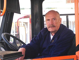 Fred Elms, Isles of Scilly bus driver