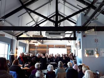 Mainland choir raises £1k for Scilly Wildlife Trust
