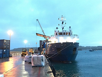 Mali Rose arrives on Scilly after week of disruption