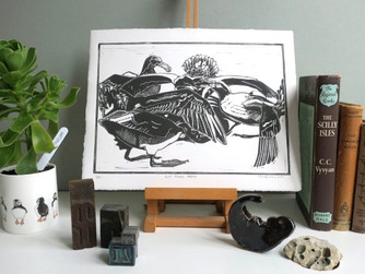 Scilly artist chosen for major wildlife art exhibition