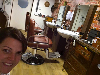 New Scilly barber shop holds open day