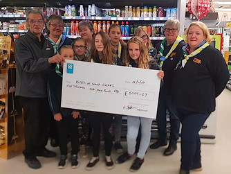 Guides, League of Friends benefit from Co-op fund
