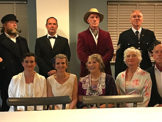 Theatre Club murder mystery 'a big success'