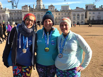 Scilly trio complete Cancer Research winter run