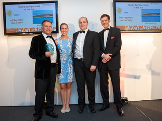Five Scilly winners at Cornwall Tourism Awards