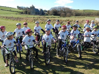 Tresco, Bryher pupils to cycle for charity