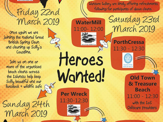 Great Scilly Spring Clean starts today