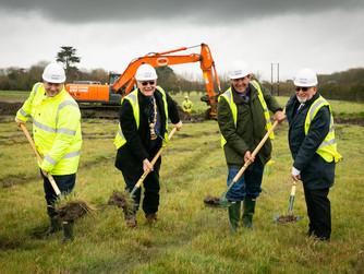 Construction starts on Penzance Heliport