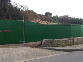 Green school hoarding is 'industry standard'