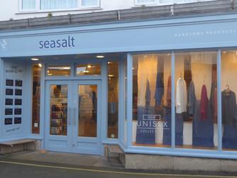 Seasalt raises money with charity snow buntings