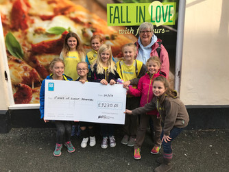 Brownies, PTFA benefit from Co-op fund
