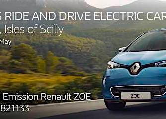 Zero emission Renault on display on St Mary's