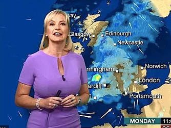 Weather presenters asked to stop obscuring Scilly