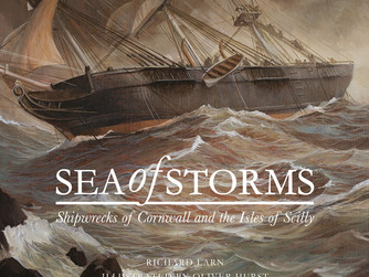 New illustrated shipwreck book released this month