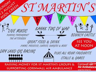 St Martin's Fete going ahead 'rain or shine'