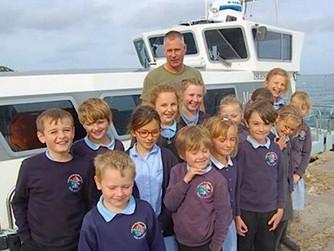 Tresco, Bryher pupils raise money for Medical Launch