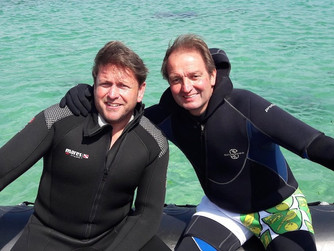 James Martin spends weekend filming on Scilly