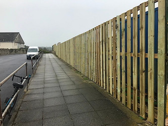 Fencing replaced at secondary school site