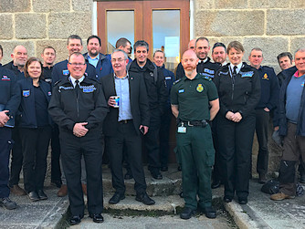 Scilly Emergency Services to work together