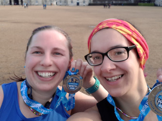 Scilly pals nervous for London Marathon