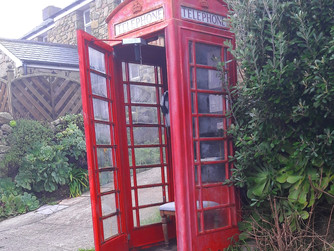 Bryher residents take over sole phone box