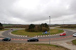 Roundabout, Carland Cross