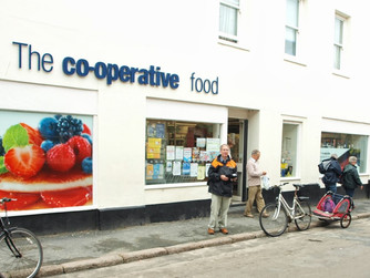 Co-op granted permission for new signage