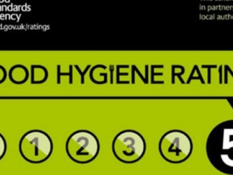 Scilly has 70% top food hygiene ratings