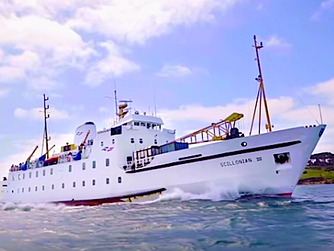 Scillonian luggage 'left on St Mary's quay'