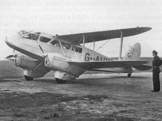 Dragon Rapide to take part in Land's End celebrations