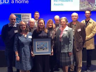 St Agnes seabird volunteers win RSPB Award