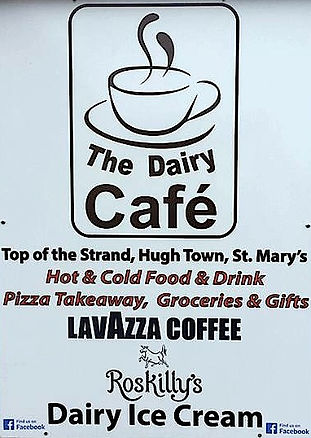 Dairy Cafe, St Mary's, Isles of Scilly