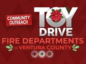 Ventura Cty. Fire Toy Drive - Now through Dec. 24th