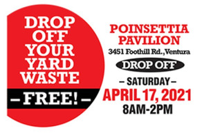 Yard Waste Drop Off - Saturday Apr 17 - 8 to 2