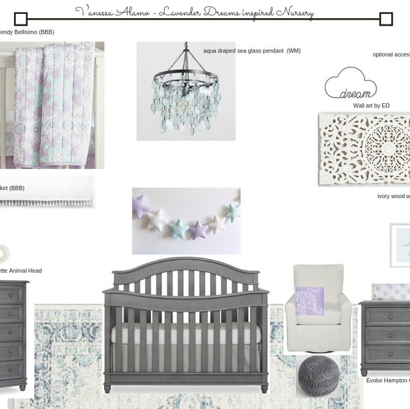 Lavender Dreams Baby Nursery