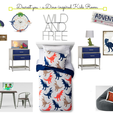 Dino Inspired Kids Room