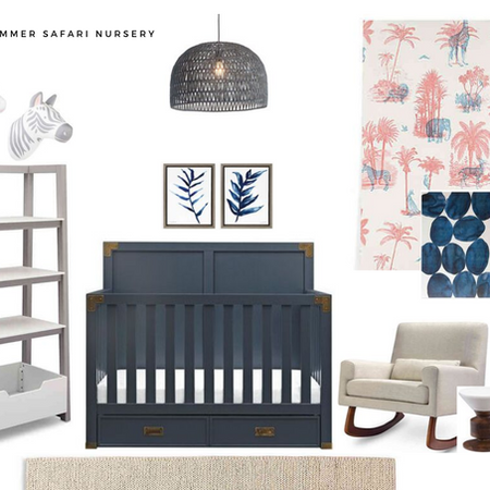 Summer Safari Baby Nursery