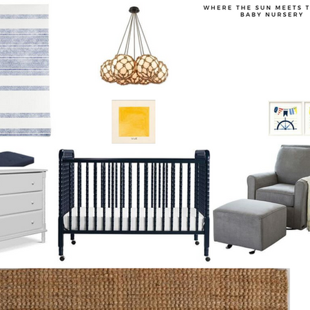 Nautical Baby Nursery