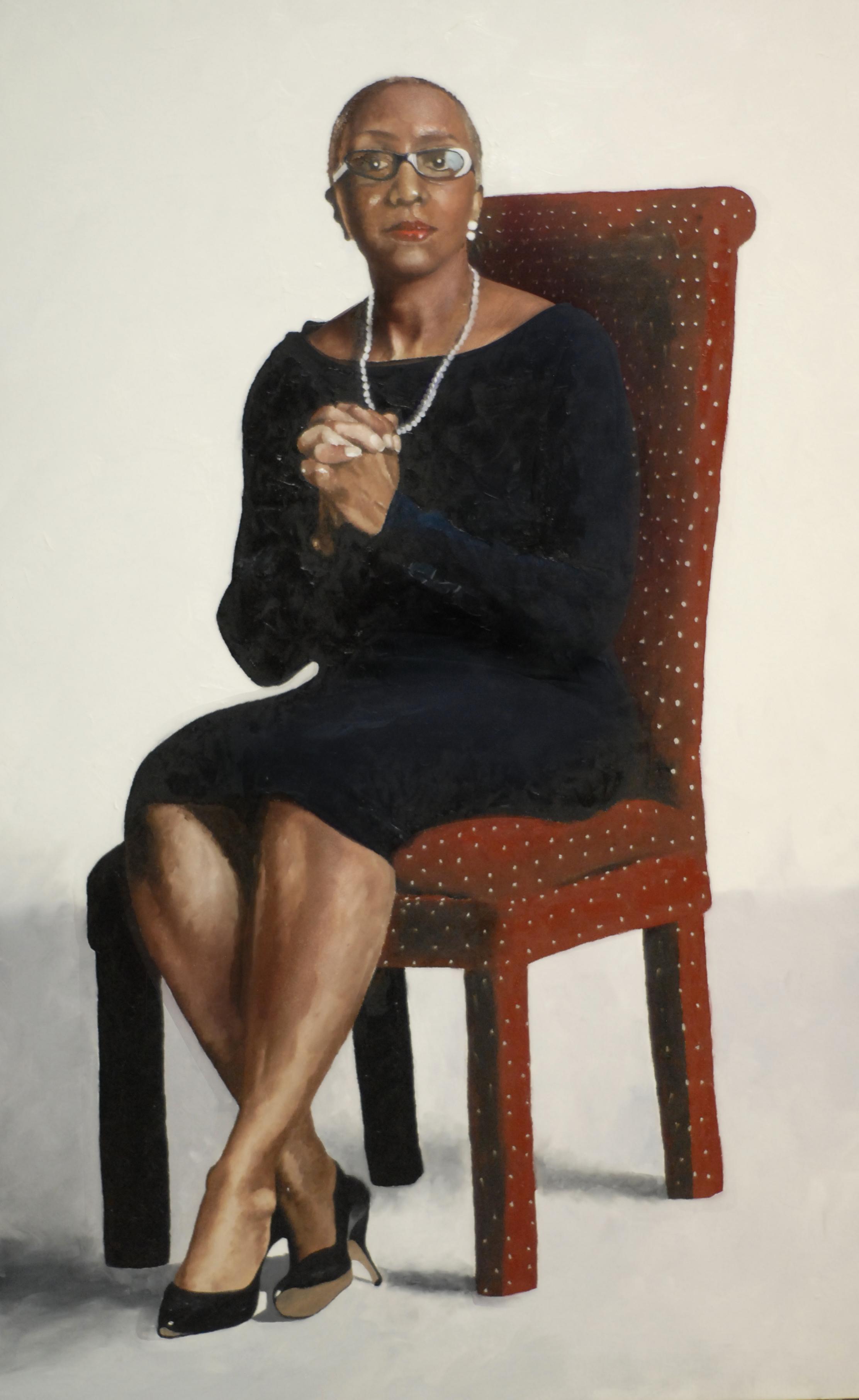 Portrait of Ms. Ann Gray