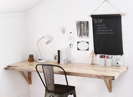 Créer un espace bureau pour le télétravail