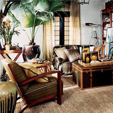 Créer un salon de style colonial dans un petit espace