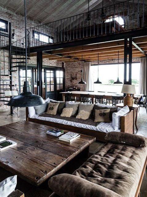 Style industriel vintage