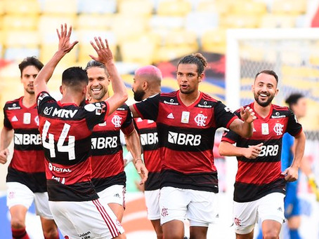 "Flamengo vence Corinthians e terá ""final"" na próxima rodada"