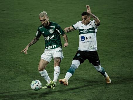 Cumprindo tabela, Coritiba vence o Palmeiras