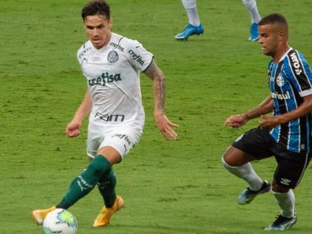 Palmeiras vence Grêmio no primeiro jogo da final da Copa do Brasil